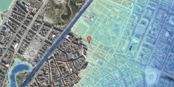 Stomflod og havvand på Gothersgade 101A, 5. , 1123 København K