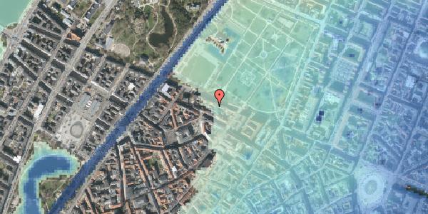 Stomflod og havvand på Gothersgade 101B, 2. , 1123 København K