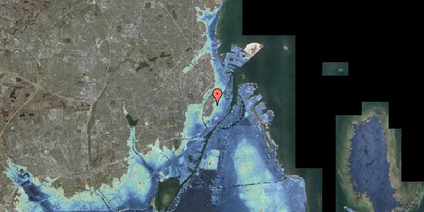 Stomflod og havvand på Gothersgade 113, 1. , 1123 København K