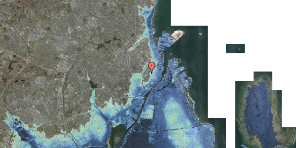 Stomflod og havvand på Gothersgade 129, 5. , 1123 København K