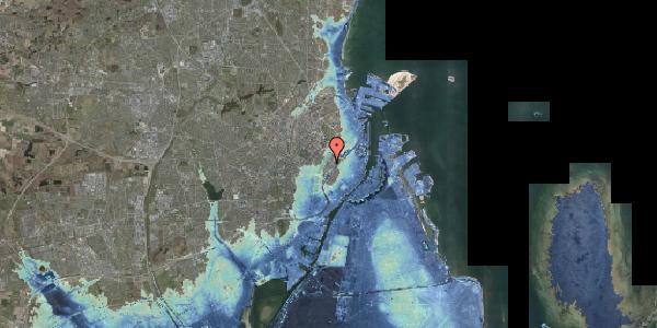 Stomflod og havvand på Gothersgade 150, kl. 2, 1123 København K
