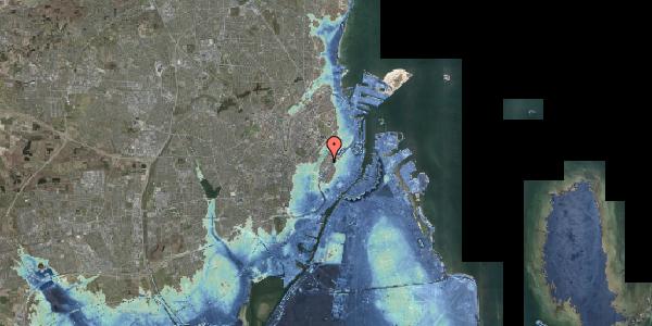 Stomflod og havvand på Gothersgade 155, 3. tv, 1123 København K