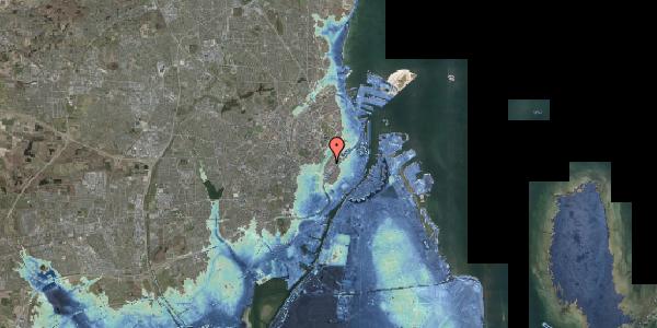 Stomflod og havvand på Gothersgade 161, kl. tv, 1123 København K