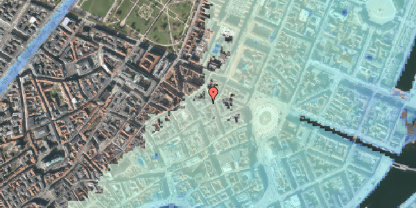 Stomflod og havvand på Grønnegade 3, st. , 1107 København K
