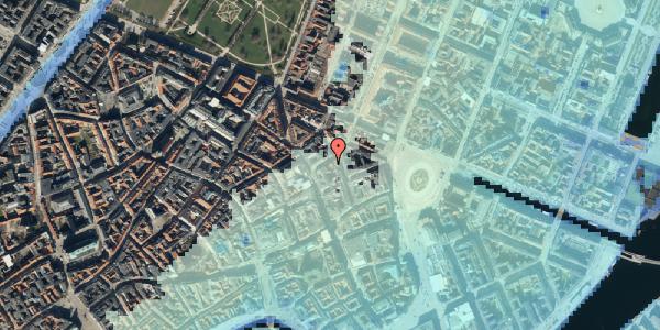 Stomflod og havvand på Grønnegade 14, kl. , 1107 København K