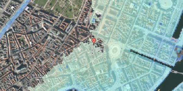 Stomflod og havvand på Grønnegade 18, 3. , 1107 København K