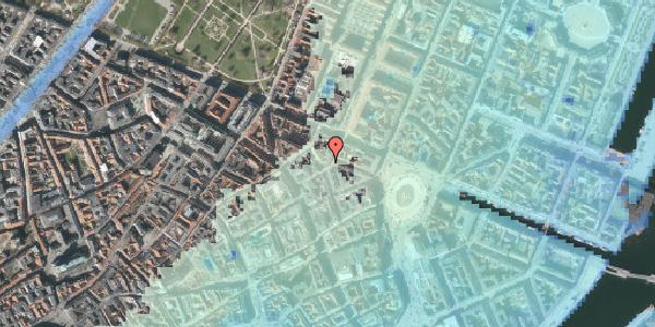 Stomflod og havvand på Grønnegade 27A, st. , 1107 København K