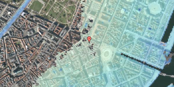 Stomflod og havvand på Grønnegade 33, 4. , 1107 København K