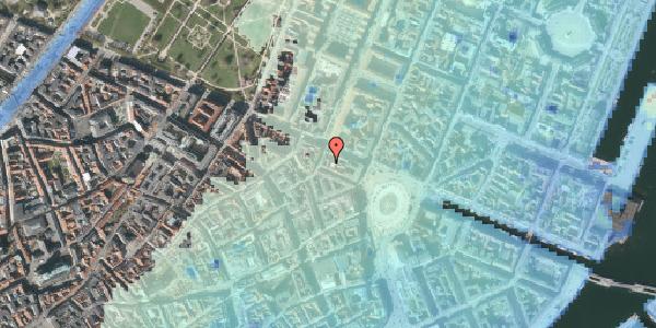 Stomflod og havvand på Grønnegade 36A, 3. , 1107 København K