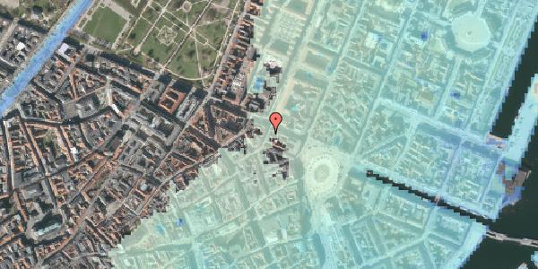 Stomflod og havvand på Grønnegade 38A, st. th, 1107 København K