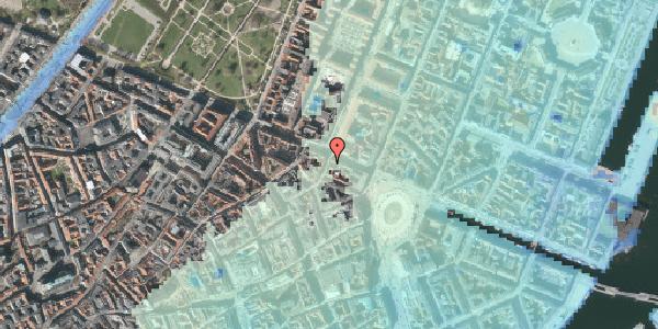 Stomflod og havvand på Grønnegade 38B, st. tv, 1107 København K