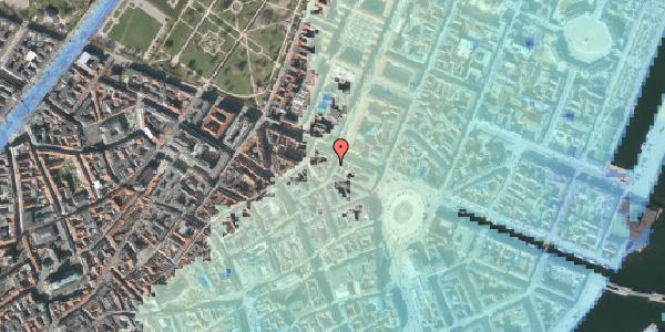 Stomflod og havvand på Grønnegade 39, 1. , 1107 København K