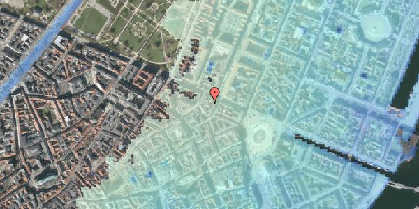 Stomflod og havvand på Grønnegade 41A, st. , 1107 København K