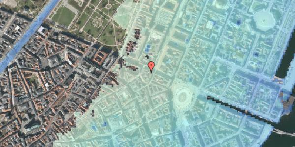 Stomflod og havvand på Grønnegade 41B, 3. , 1107 København K