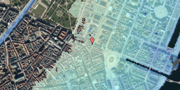 Stomflod og havvand på Grønnegade 41B, 5. , 1107 København K