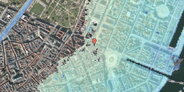 Stomflod og havvand på Grønnegade 41, 1. , 1107 København K