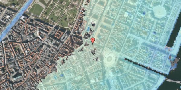 Stomflod og havvand på Grønnegade 43, st. 1, 1107 København K