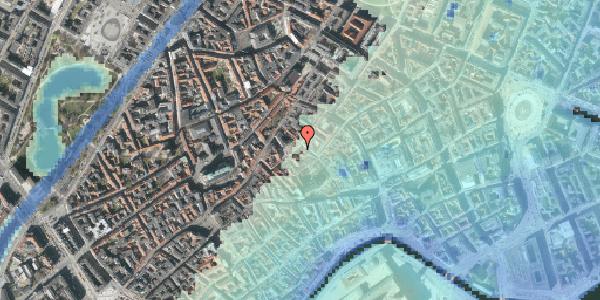 Stomflod og havvand på Gråbrødretorv 3, 3. , 1154 København K