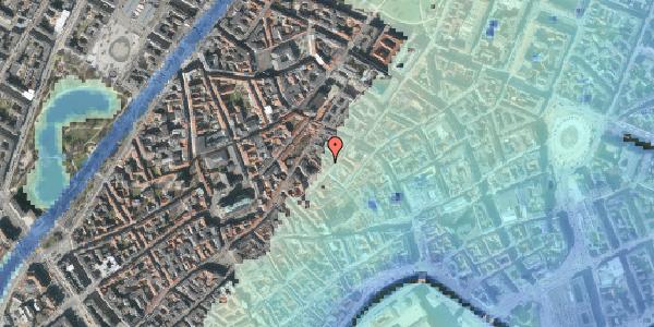 Stomflod og havvand på Gråbrødretorv 4A, 3. , 1154 København K