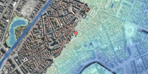 Stomflod og havvand på Gråbrødretorv 4, st. th, 1154 København K