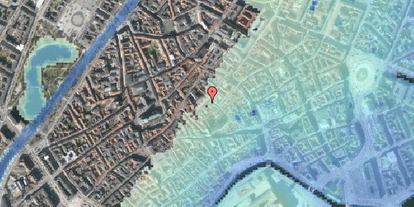 Stomflod og havvand på Gråbrødretorv 5, 1. tv, 1154 København K