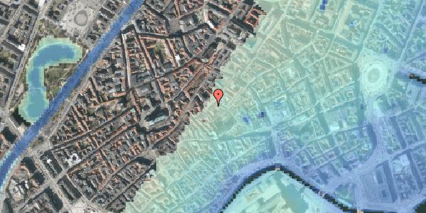 Stomflod og havvand på Gråbrødretorv 7, st. th, 1154 København K