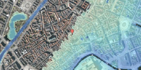 Stomflod og havvand på Gråbrødretorv 9, kl. , 1154 København K