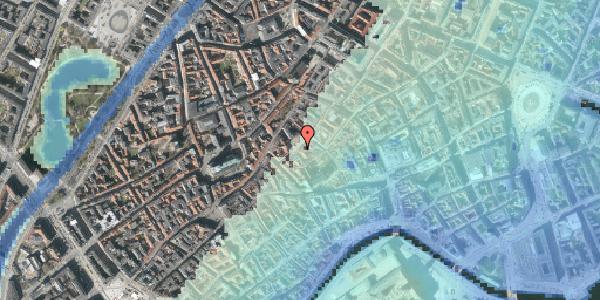 Stomflod og havvand på Gråbrødretorv 11, kl. 2, 1154 København K