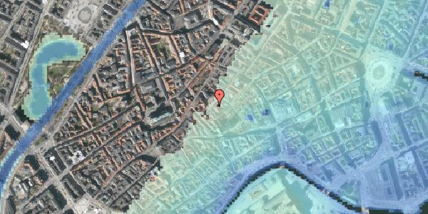 Stomflod og havvand på Gråbrødretorv 11, 3. , 1154 København K