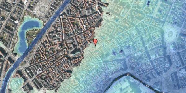 Stomflod og havvand på Gråbrødretorv 12, 4. , 1154 København K