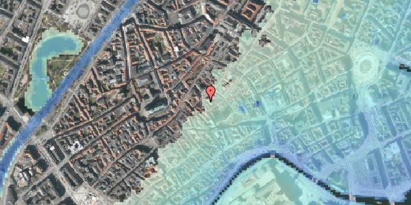 Stomflod og havvand på Gråbrødretorv 13, st. 1, 1154 København K