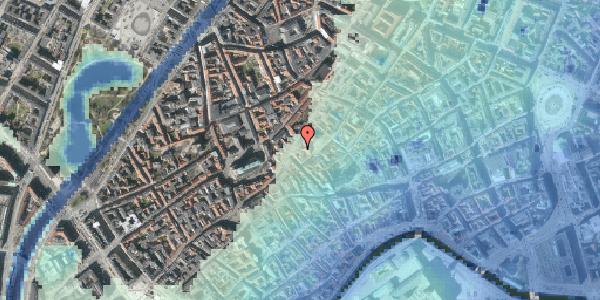 Stomflod og havvand på Gråbrødretorv 14B, st. , 1154 København K