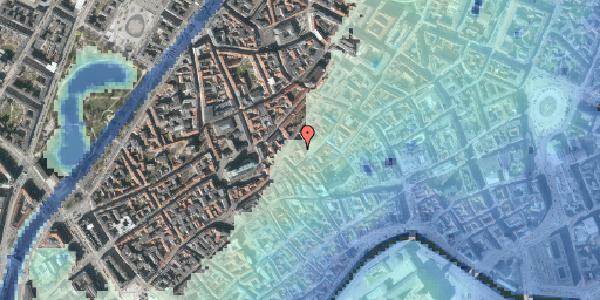 Stomflod og havvand på Gråbrødretorv 14, st. , 1154 København K