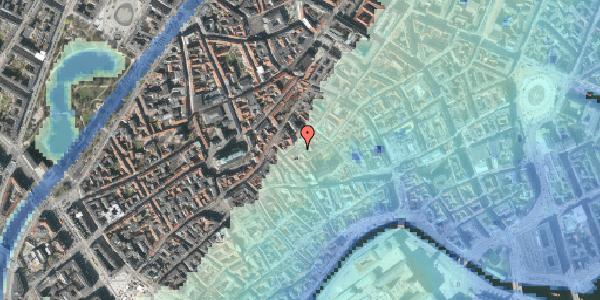 Stomflod og havvand på Gråbrødretorv 15, 3. tv, 1154 København K