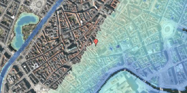 Stomflod og havvand på Gråbrødretorv 15, 4. th, 1154 København K
