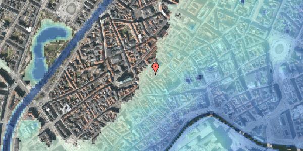 Stomflod og havvand på Gråbrødretorv 16A, 1. , 1154 København K