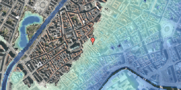 Stomflod og havvand på Gråbrødretorv 16A, 4. , 1154 København K