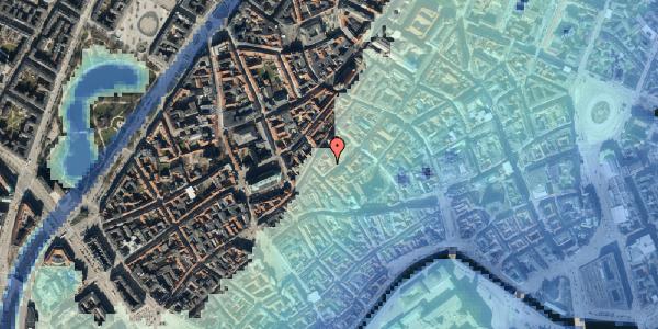 Stomflod og havvand på Gråbrødretorv 16, 3. , 1154 København K