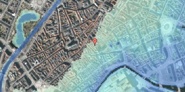 Stomflod og havvand på Gråbrødretorv 17B, st. , 1154 København K