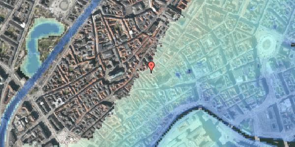 Stomflod og havvand på Gråbrødretorv 19, st. , 1154 København K