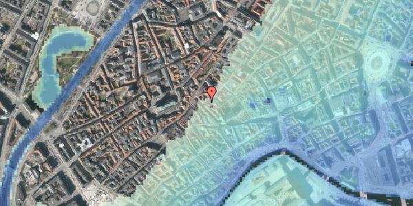 Stomflod og havvand på Gråbrødretorv 21, kl. 2, 1154 København K