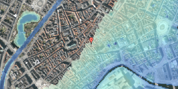 Stomflod og havvand på Gråbrødretorv 21, 2. , 1154 København K