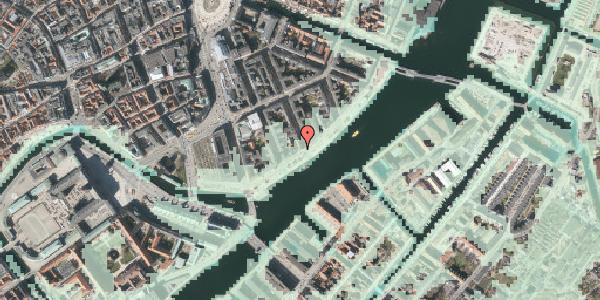 Stomflod og havvand på Havnegade 33, 3. tv, 1058 København K