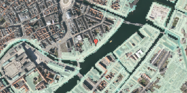 Stomflod og havvand på Havnegade 33, 5. th, 1058 København K