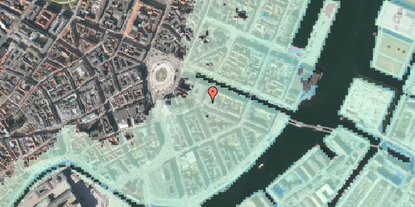 Stomflod og havvand på Heibergsgade 14, 4. tv, 1056 København K
