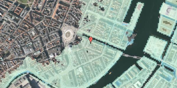 Stomflod og havvand på Heibergsgade 16, kl. , 1056 København K