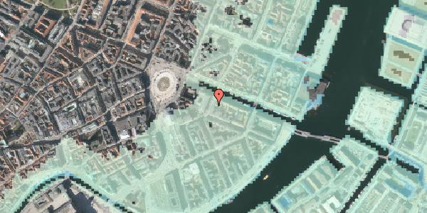 Stomflod og havvand på Heibergsgade 16, 1. th, 1056 København K
