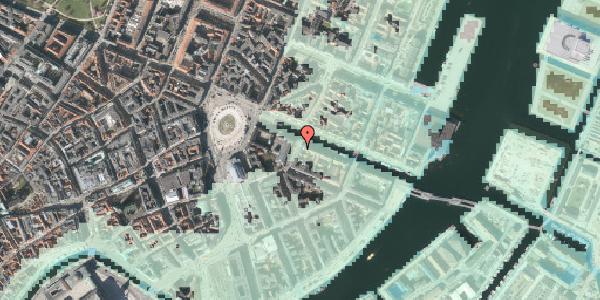 Stomflod og havvand på Heibergsgade 18, 2. tv, 1056 København K