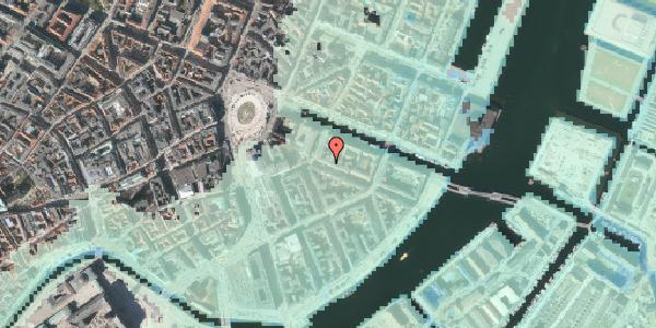 Stomflod og havvand på Herluf Trolles Gade 3, kl. th, 1052 København K