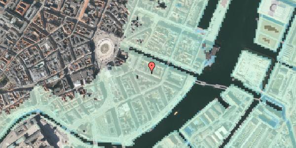 Stomflod og havvand på Herluf Trolles Gade 7, st. tv, 1052 København K
